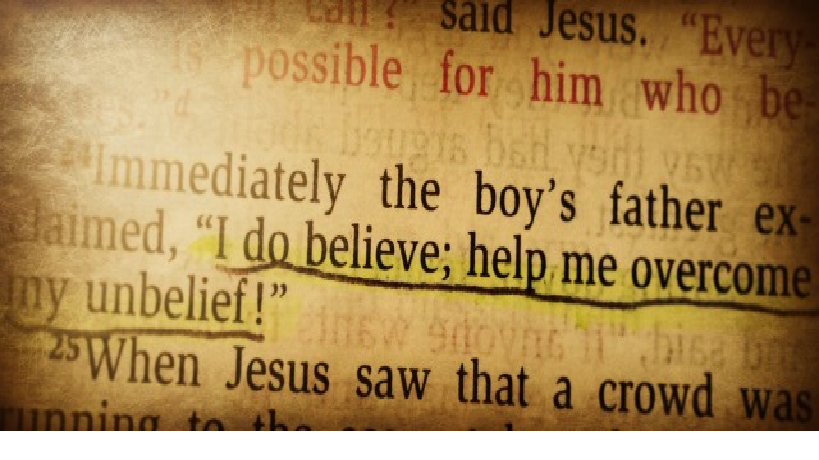 Help My Unbelief - It's Not About Me, It's About Jesus